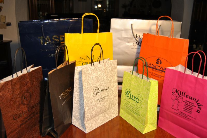 SHOPPERS IN CARTA PER BOUTIQUE PERSONALIZZATI
